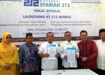 halal bihalal koperasi syariah 212, 2017